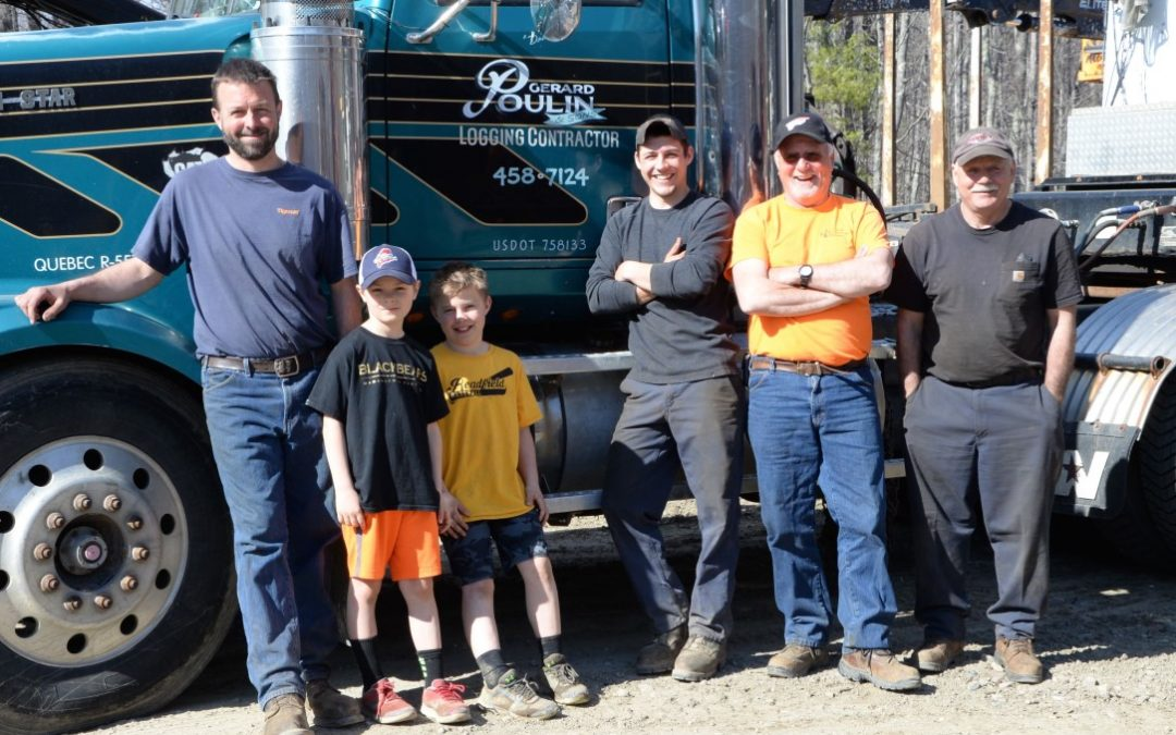 Master Logger company Gerard Poulin & Sons